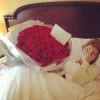 Sevgililer günü çiçekleri :)