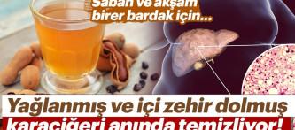 Adeta süper besin… Yağlanmış ve içi zehir dolmuş karaciğeri anında temizliyor!