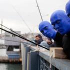 Blue Man Group: İstanbul harika bir şehir